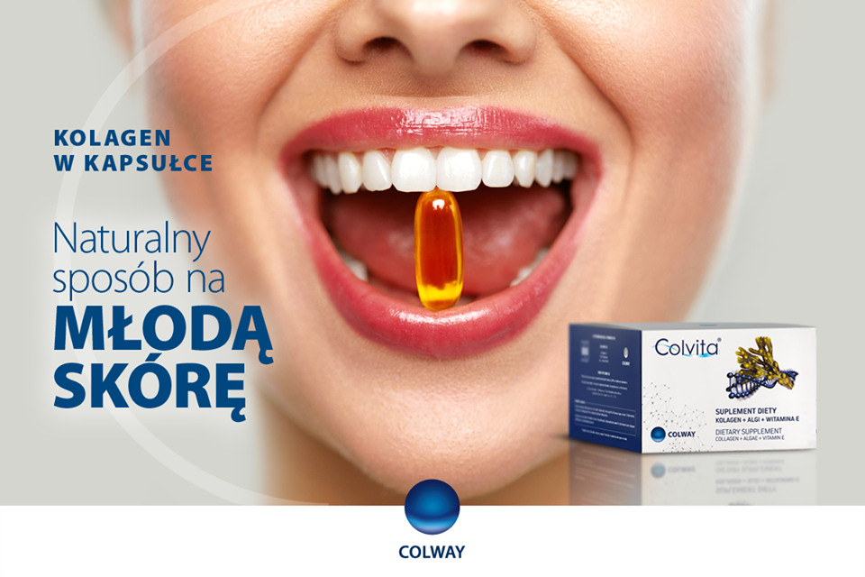 Kolagen w tabletkach cOLVITA